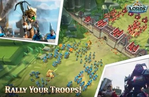 4 Game Android Terpopuler di Indonesia-Lords Mobile